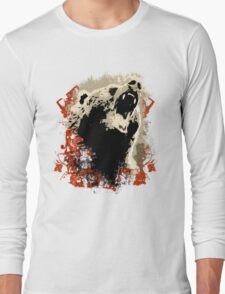 Angry Bear Of Alaska Long Sleeve T-Shirt