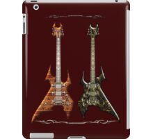 Duet Death Metal Guitars iPad Case/Skin
