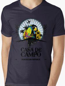 Casa de Campo Mens V-Neck T-Shirt