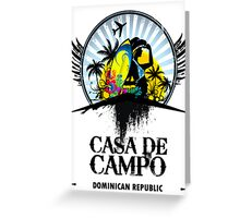 Casa de Campo Greeting Card