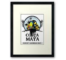 Costa Maya Framed Print