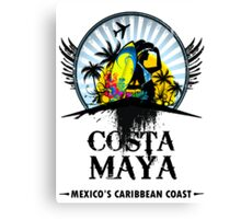 Costa Maya Canvas Print