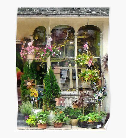 Strasburg Flower Shop Poster