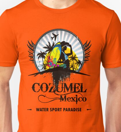 Cozumel Mexico Summer Place Unisex T-Shirt