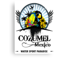 Cozumel Mexico Summer Place Canvas Print