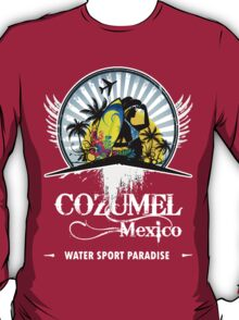 Fine Beach Of Cozumel T-Shirt