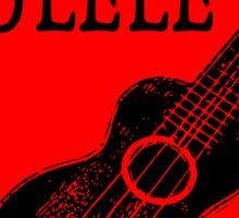 Ukulele Love Sticker
