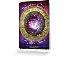 Astrology: Virgo Greeting Card