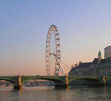 The London Eye by looneyatoms