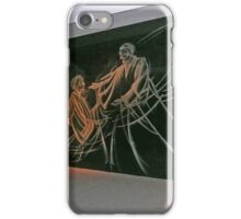 Etched glass, Temple of the Community of Christ iPhone Case/Skin