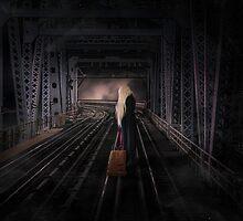 Girl on the Track by Karen Johnson