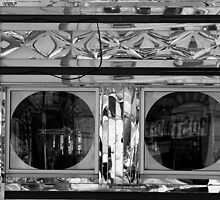 Diner Windows 10 Black and White by marybedy