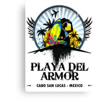 Playa Del Armor Mexico Canvas Print