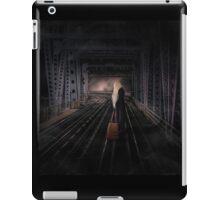 Girl on the Track iPad Case/Skin