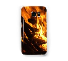 Tongues of flame Samsung Galaxy Case/Skin