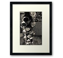 gear up Framed Print
