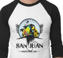San Juan Men's Baseball ¾ T-Shirt