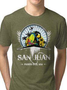 Nice Old San Juan Tri-blend T-Shirt
