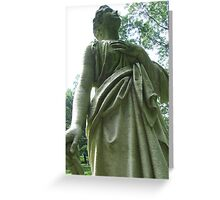 Stone Angel: Don't Blink Greeting Card