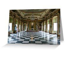 Hall of Ambassadors, Queluz National Palace Greeting Card