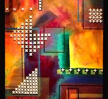 Tile Spacers and Flames by Patrick Leonard