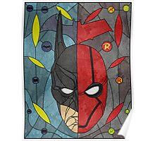 Bat and Hood Poster