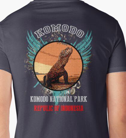 Komodo National Park Adventures Mens V-Neck T-Shirt