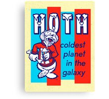 HOTH: COLDEST IN THE GALAXY Canvas Print