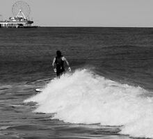 The Surfer by Robert Brown