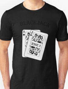 2NE1 - Blackjack t-shirt Unisex T-Shirt