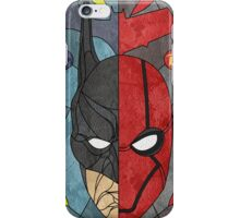 Bat and Hood iPhone Case/Skin