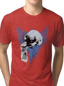 Salute Cap Tri-blend T-Shirt
