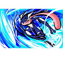 Greninja | Water Shuriken Photographic Print