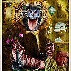Tiger Tiger Burning Bright ~ Whisker Wings. by nawroski .