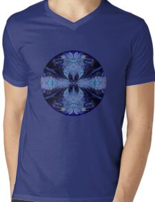 The Deep Blue Mens V-Neck T-Shirt