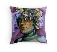 Statue Tablets. Throw Pillow
