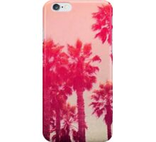 Pink Palm Trees iPhone Case/Skin
