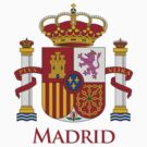 Madrid Shield of Spain by William Martin