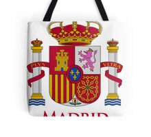 Madrid Shield of Spain Tote Bag