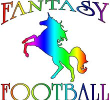 Fantasy Football Unicorn by wearmoretees