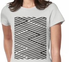Dizzy Pattern Womens Fitted T-Shirt