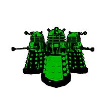 Daleks (Green) by Cosmodious