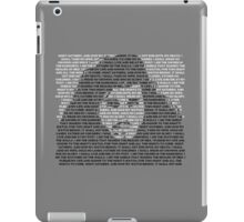 The Night's Watch Oath iPad Case/Skin