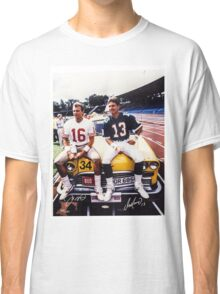 Dan Marino Joe Montana Classic T-Shirt