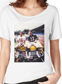 Dan Marino Joe Montana Women's Relaxed Fit T-Shirt