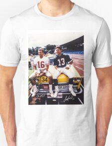 Dan Marino Joe Montana Unisex T-Shirt