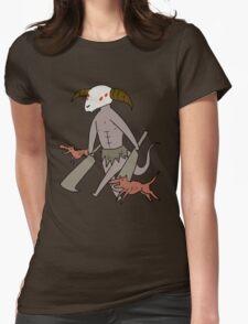 Capra Demon Womens Fitted T-Shirt