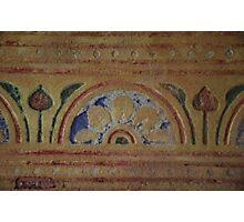 Sgraffito in Rattery Parish Church Photographic Print