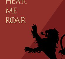 Hear Me Roar - Lannister by MCellucci