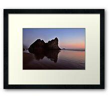 ARCADIA BEACH Framed Print